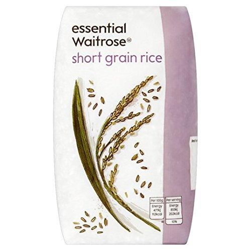 Riz à grain court essentielle 500g Waitrose