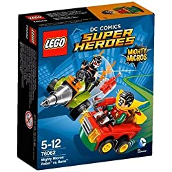 Super Heroes LEGO 76062 - Figurine Mighty Micros Robin Vs Bane