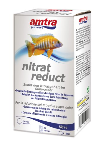 Amtra A3AM0273 IE073 Nitrat Reduct Wasseraufbereiter für Aquarien, 500 ml