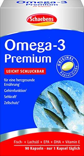 Schaebens Omega 3 Premium, 1er Pack (1 x 90 Stück)
