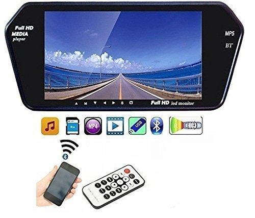UniqOutlet Full HD LED Screen for Creta/Ecosport/Tiago/Baleno/Kwid/Swift/i20/Eon/Ford Figo/Honda City/KUV100, 7-inch