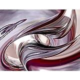 Tapisserie Photo Abstrait 396 x 280 cm Laine papier peint Salon Chambre Bureau Couloir décoration Peinture murale décor mural moderne - 100% FABRIQUÉ EN ALLEMAGNE - 9042012b