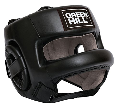 Green Hill Castle Head Guard (Black, Large)