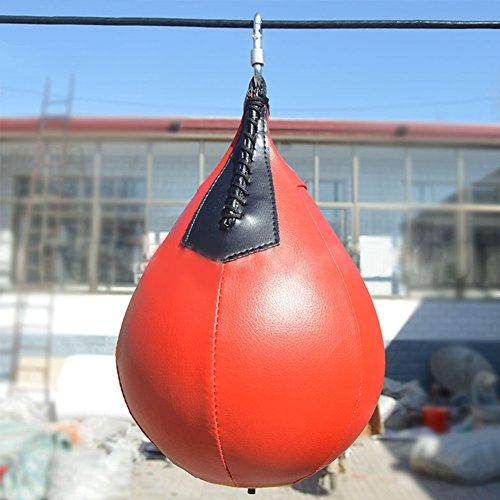Aprettysunny Forma di Pera 1PC PU Boxing Training Sacco, Palla, Boxer Formazione Kickboxing, 1