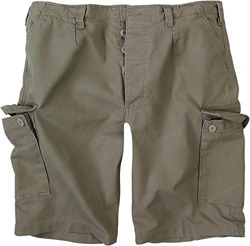 normani BW Herren Bermuda Shorts aus robustem Moleskingewebe Farbe Oliv Größe L