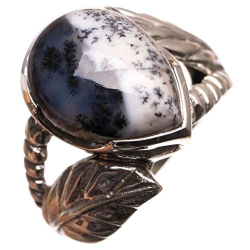 stargems-tm-naturliche-dendritic-opal-handgefertigten-mexikanischen-925-sterling-silber-ring-uk-gros