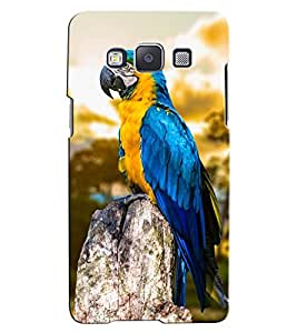 Citydreamz Blue Bird\Parrot\jungle Hard Polycarbonate Designer Back Case Cover For Samsung Galaxy J5 2016 Edition