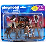 Playmobil Knights with Horse, Armor and Accessories 28 Piece Playset 5888 by PLAYMOBIL®