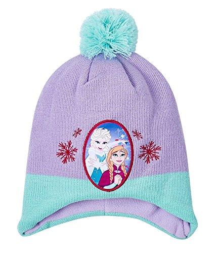 Disney frozen - il regno di ghiaccio ragazze berretto di lana - viola - 54