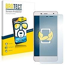 2x BROTECT Protector Pantalla Doogee Hitman DG850 Película Protectora – Transparente, Anti-Huellas