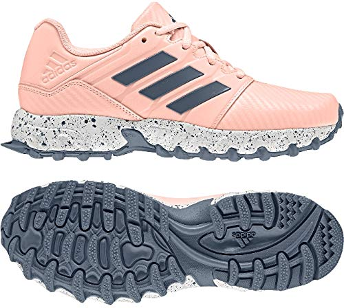 cheap for discount 35259 e70d8 adidas Junior Hockey Shoes - SS19 - J4 Pink