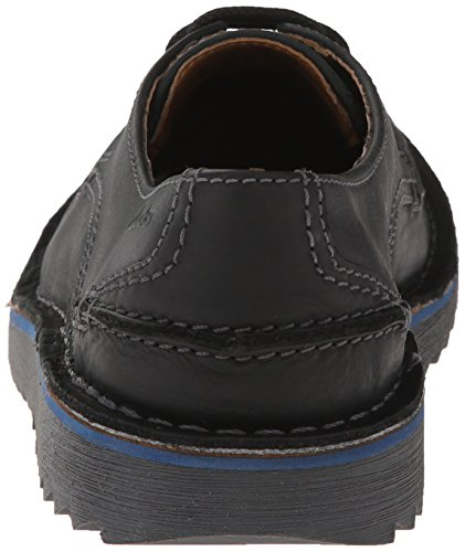 Clarks Remsen Grenze Oxford Black Leather