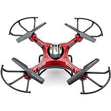 Malloom® JJRC H8D 6-Axis Gyro 5.8G FPV RC Quadcopter Drone HD cámara + Monitor +2 Batería