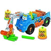 Hasbro A7394EU4 - Play-Doh Buzz, Camioncino per tagliare e trasportare plastilina - Sega Circolare Marchi