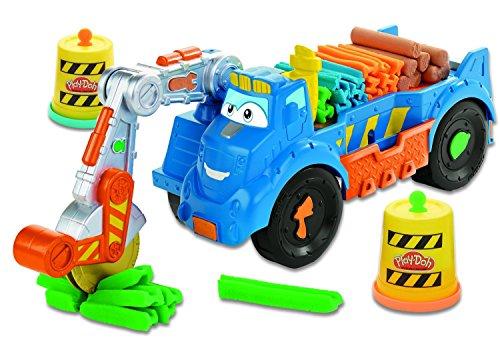 play-doh-a7394-diggin-rigs-buzzsaw-camion-de-chantier-4-pots