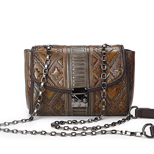 Damenmode Umhängetasche Leder CrossBody Messenger Bags Für Frauen Handtasche Smart Casual Mädchen Satchel Handtasche Satchel Yellow
