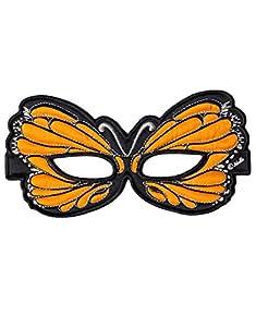 DREAMY DRESS-UPS 50768naranja Mariposa Máscara (talla única)