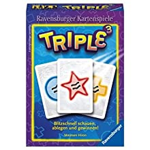 Ravensburger 27105 Triple 3 Card Game