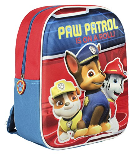 Imagen de artesanía cerdá patrulla canina  infantil, color rojo