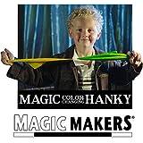 Magic Makers Color Changing Hanky - Truco Magia fácil con Pañuelos de Seda