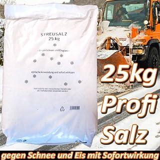 25kg Profi-Streusalz Auftausalz Salz Tausalz Eis Schnee