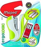 Maped ergologic mini Heftgerät mit 24/6/26/6, verschiedene Farben, 1 Stück