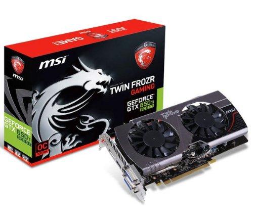 MSI Scheda Grafica Twin Frozr Gaming Geforce GTX 650TI Boost