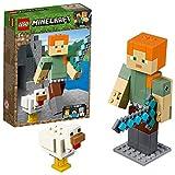 LEGO Minecraft™ 21149 Minecraft™-BigFig Alex mit Huhn