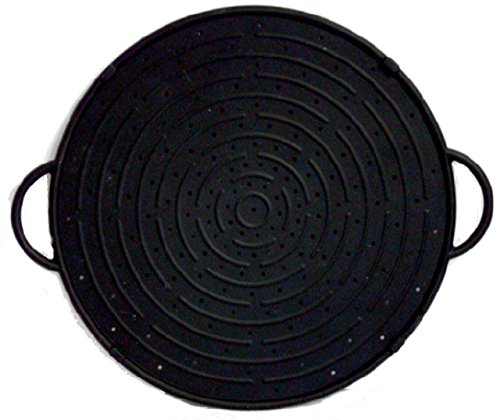 CleanZone Silicone Splatter Guard/Baking Tray - Black - 30cm. Superior Quality + 10 Year Guarantee