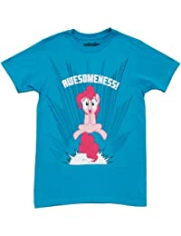 My Little Pony Rosaie Pie Awesomeness Erwachsene Türkis T-shirt