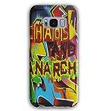 Anarchie Chaos Kunst Mode Graffiti Ventilator 3D Galaxy S8 Plus Hülle | Wellcoda