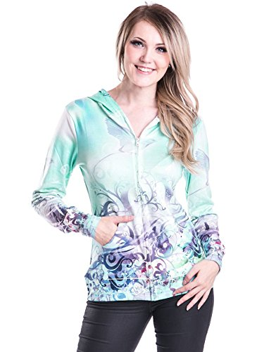 innocent-lifestyle-sweat-a-capuche-femme-small-turquoise-l