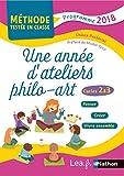 Une année d'ateliers philo-art - Cycles 2 et 3