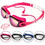 Best Water Goggles - Proworks Swimming Goggles with Mirrored Lenses, UV Protection Review