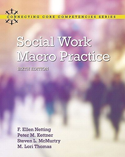 Social Work Macro Practice with Enhanced Pearson eText -- Access Card Package (6th Edition) (What's New in Social Work) by F. Ellen Netting (2016-01-16)