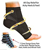 Skudgear Compression Sleeve Socks with Arch Support for Plantar Fasciitis Pain Relief, Heel