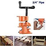 Carremark 1/2 3 / 4inch Holzleim Rohrschelle Set Gusseisen Heavy Duty Holzbearbeitung Tischler Werkzeug