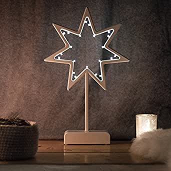 Snowera led dekorationsleuchte weihnachtsbeleuchtung kabellos mit 20 led s inkl batterien aus - Weihnachtsbeleuchtung kabellos ...