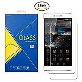 [2 Pack] Protector Cristal Vidrio Templado Huawei P8 ( GRA-L09 ) - Pantalla Antigolpes y Resistente al Rayado