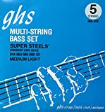 GHS Bass Boomers Bass Guitar Strings45-105 Long Scale