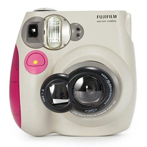 CAIUL Nahlinse Selfie Spiegel Linse für Fujifilm Instax Mini 8 8+ 9 7S und Polaroid 300 Kameras (Schwarz)