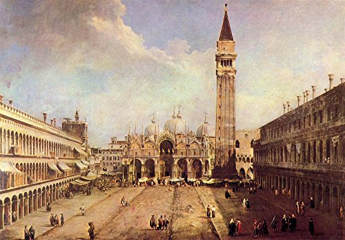 Das Museum Outlet-Piazza San Marco [1] von Canaletto-A3Poster