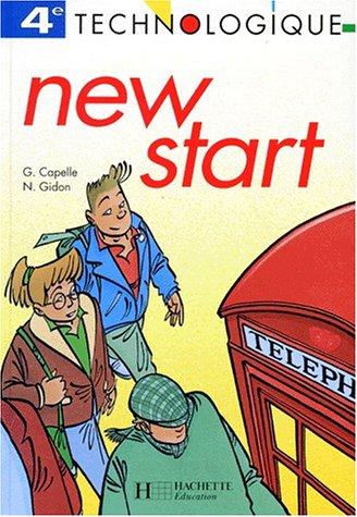 New start, 4e technologique, 1993. Livre de l'élève