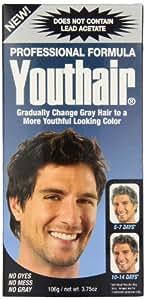 Youthair Crème de coloration pour cheveux gris - Formule professionnelle sans acétate de plomb - 110 ml