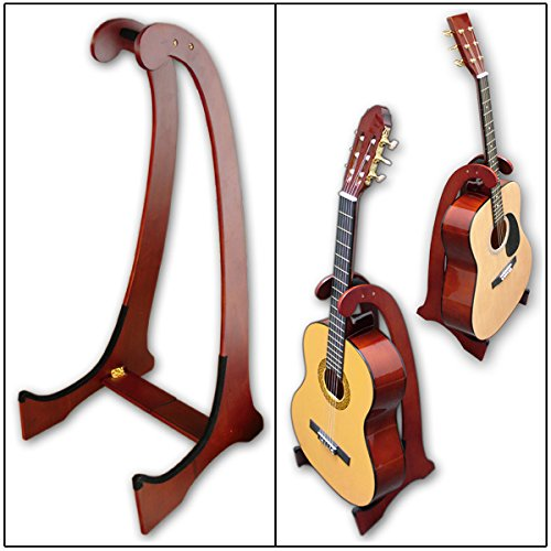 Clifton A033606�Wooden Guitar Stand, Rosewood