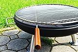 Edelstahl Grillrost für Feuerschale 50 cm, Auflegegrillrost, Profi-Grillrost in Top-Qualität!