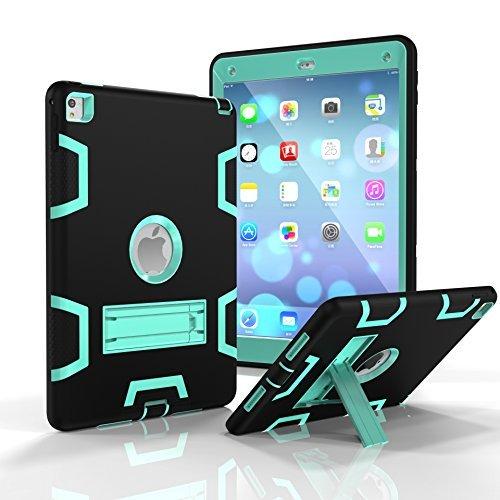SUMOON Tablet-Schutzhülle, Apple ipad pro 9.7, Black/Mint, Stück: 1 (Apple Cube Ipad-ladegerät)