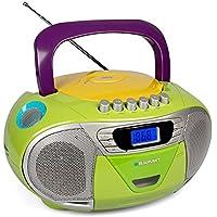 Blaupunkt Boombox 11 PLL | Tragbarer Kinder CD Player, Radio Mit  Kassettenrekorder Inklusive Aux