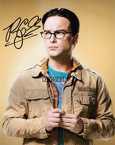 Limited Edition Johnny Galecki The Big Bang Theory unterzeichnet Foto Autogramm signiertsigniertes