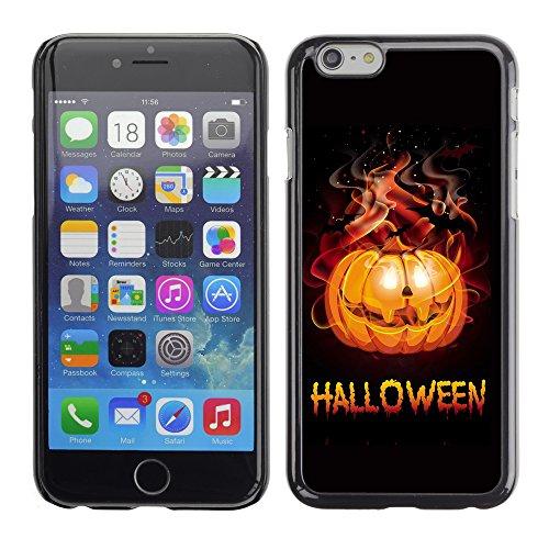 Graphic4You Halloween Allerheiligen Thema Kürbis Design Harte Hülle Case Tasche Schutzhülle für Apple iPhone 6 / 6S Design #4